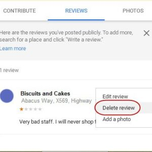 Remove Google Negative Reviews